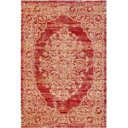 benuta Trends Flachgewebeteppich Stella Orange 120x170 cm - Vintage Teppich im Used-Lookbenuta.de