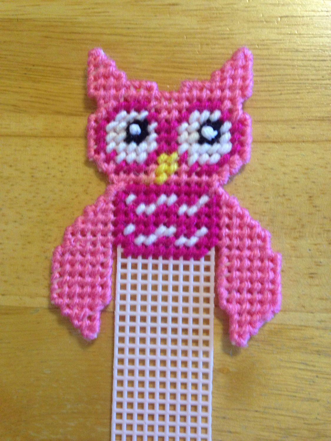 Pretty n pink owl bookmark pink plastic canvas owl birthday pretty n pink owl bookmark pink plastic canvas owl birthday bankloansurffo Gallery