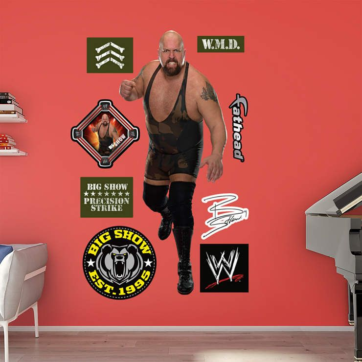 Big show fathead wall decal