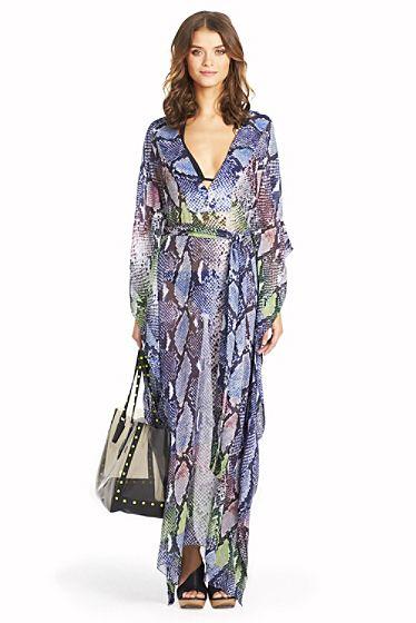 fe4c01c1a3b Diane von Furstenberg Annushka Long Kaftan Beach Cover Up on shopstyle.com