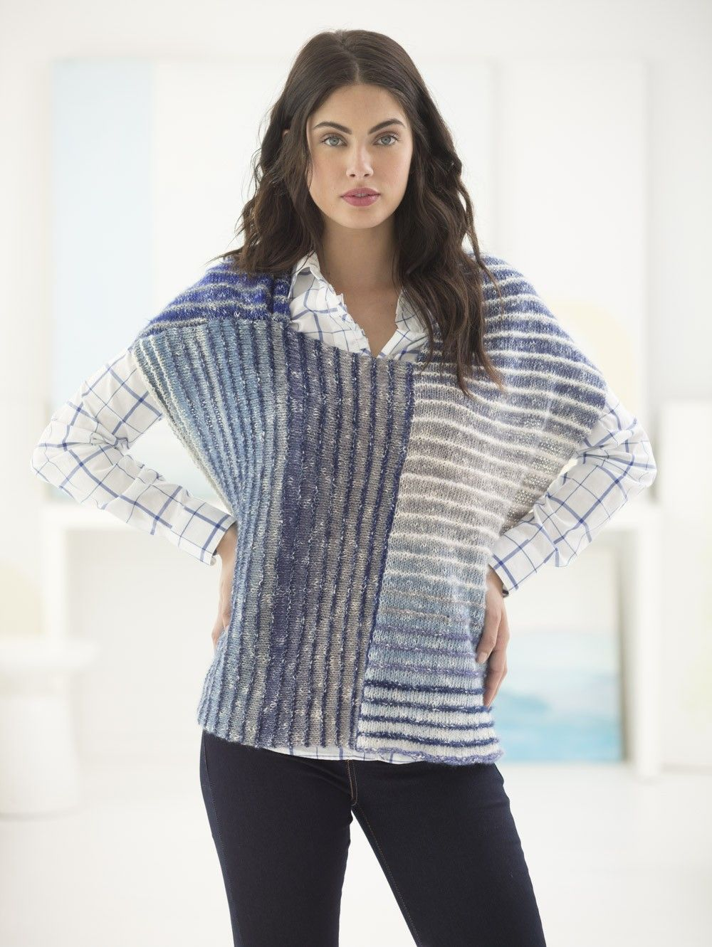 More! Ponchos to Knit for Fall – 15 free patterns from Lion Brand ...