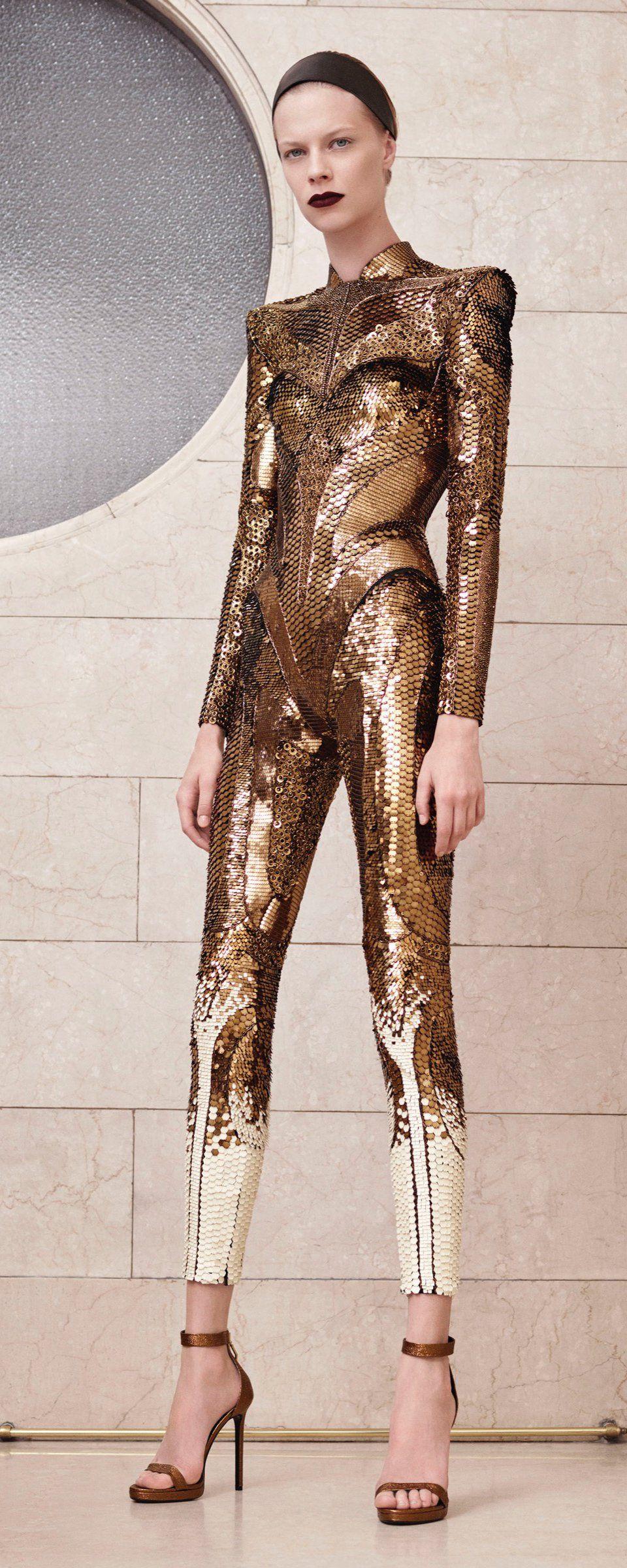 Atelier Versace Automne-hiver 2017-2018 - Haute couture - http://fr.orientpalms.com/Atelier-Versace-6843