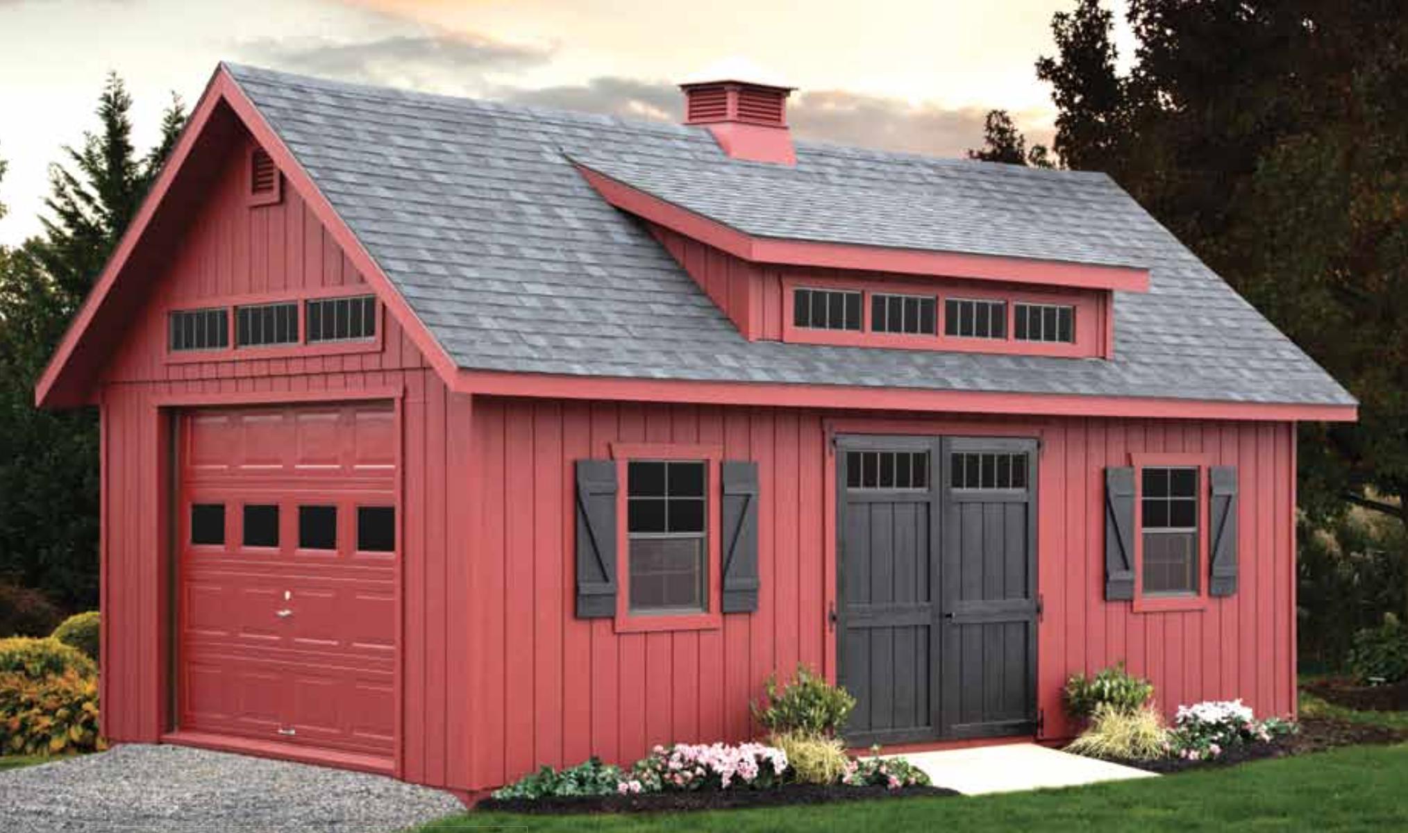 Garages Barn Storage Barns Sheds Amish Sheds