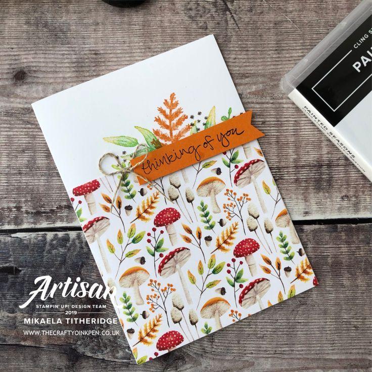 Painted Seasons Bundle Stampin up cards, Card making
