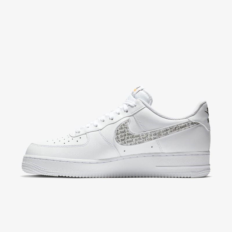 Nike Air Force 1 Low Just Do It White Grailify Sneaker