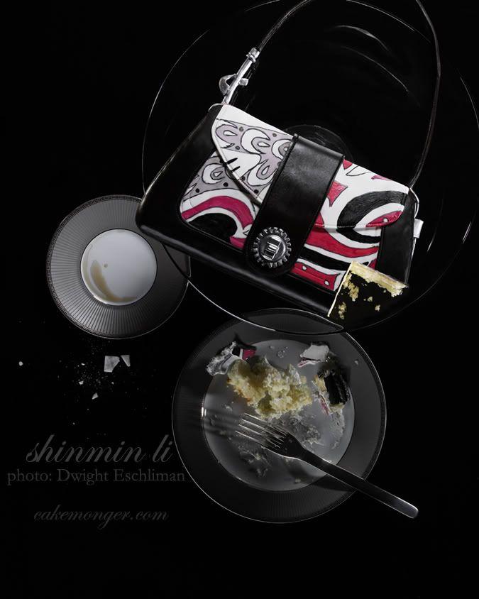 shinmin li handbag cake ♥ | Handbag cakes, Custom cakes ...