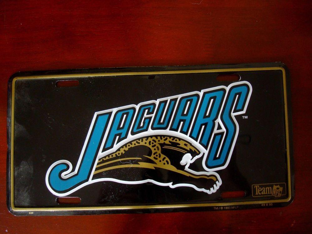 Jacksonville Jaguars License Plate JacksonvilleJaguars
