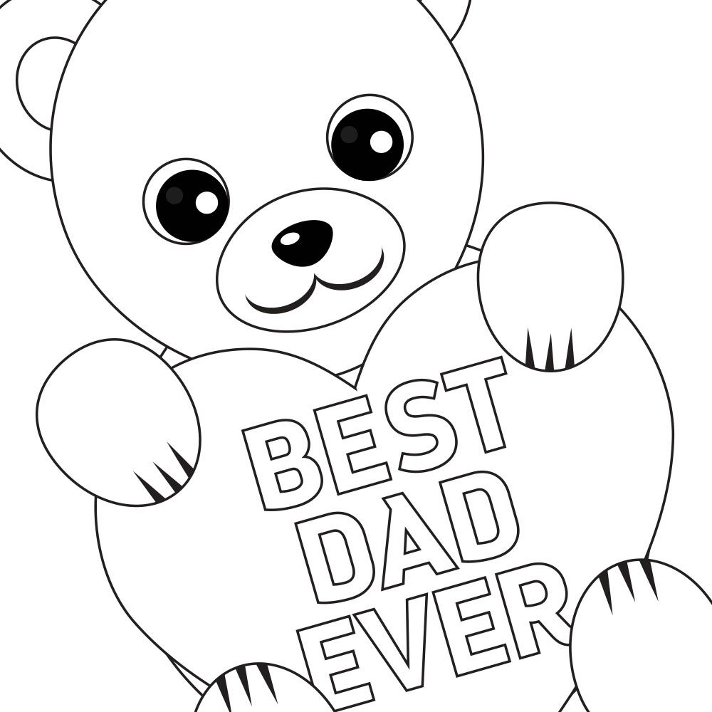 Free Printable Father S Day Coloring Card And Page Fathers Day Coloring Page Father S Day Printable Free Printable Coloring Pages