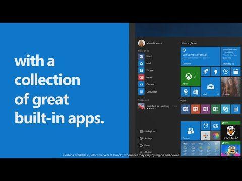 Nuevo vídeo de Microsoft muestra las aplicaciones
