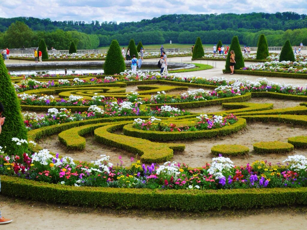 English Garden Formal Gardens of Versailles Garden English