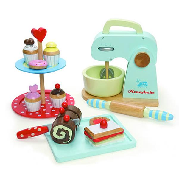 Le Toy Van Honeybake Retro Wooden Baking Set For Mini