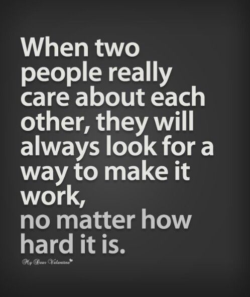 True love- That is how it should be. Sometimes in life people get lost…