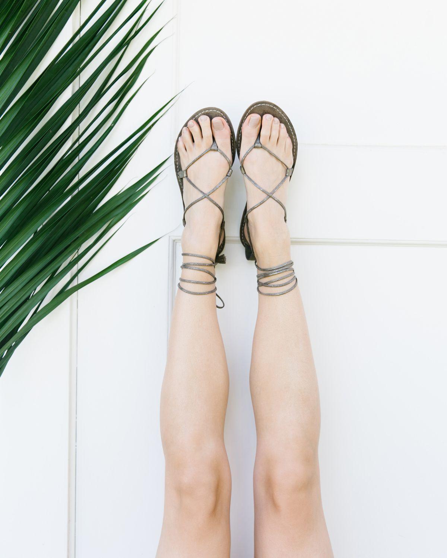 The Boardwalk Lace-Up Sandal in