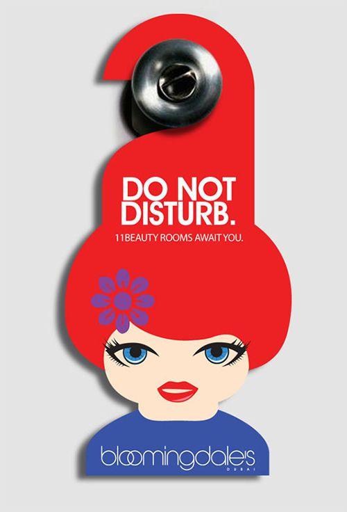 Awesome Door Hanger Designs  Print NewsBlog  Inspiratie