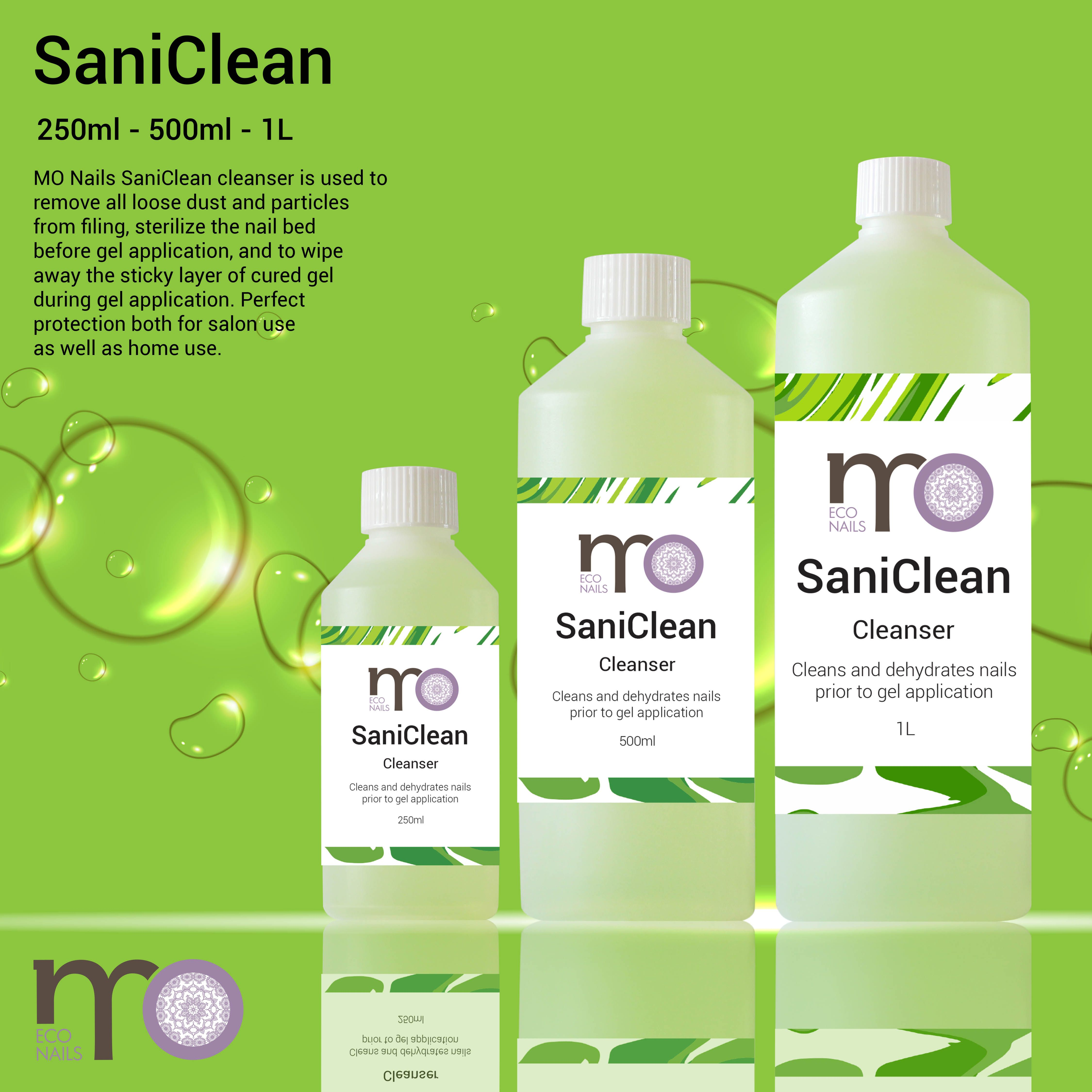 NEW in store! MO Nails SaniClean cleanser is used to remove all ...