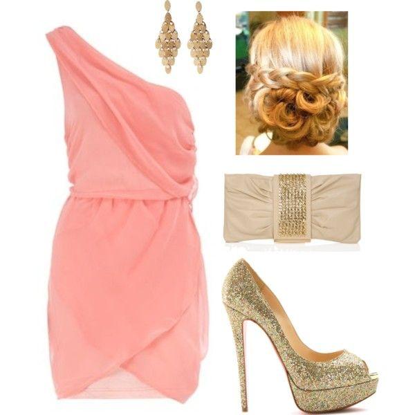 Pink Dress Accessories