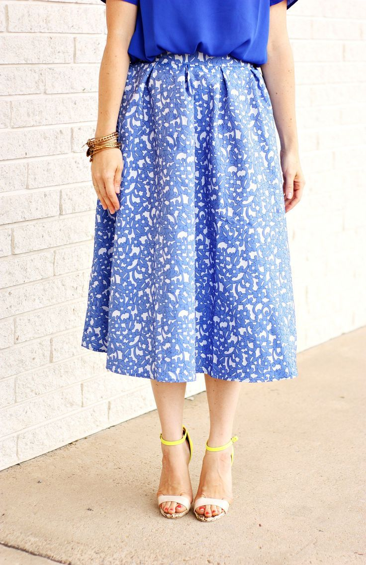 Blue on blue | The Pretty Life Girls | @shabbyapple @centsofstyle