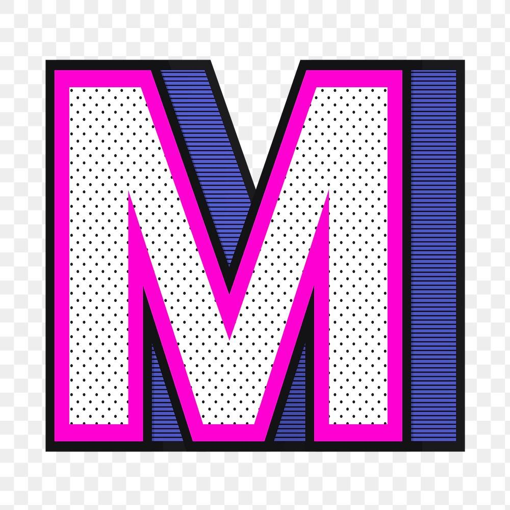 Download Free Png Of Letter M Png 3d Halftone Effect Typography By Wan About 3d Alphabet Alphabet M Alphabet M Png And Alphabe In 2021 Halftone Lettering Typography