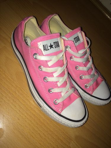 2e4c6af3619d Pink Converse Trainers Size 4 in Clothes