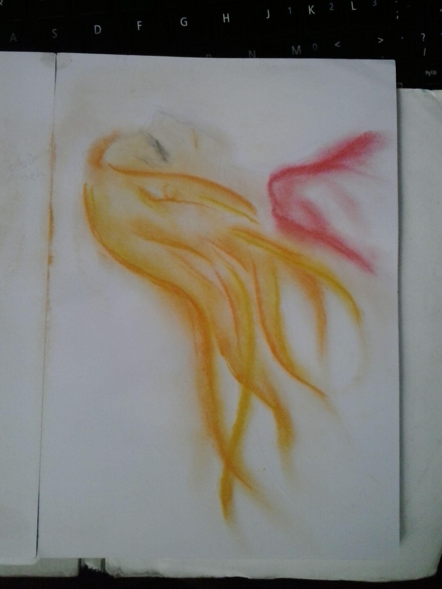dry pastel