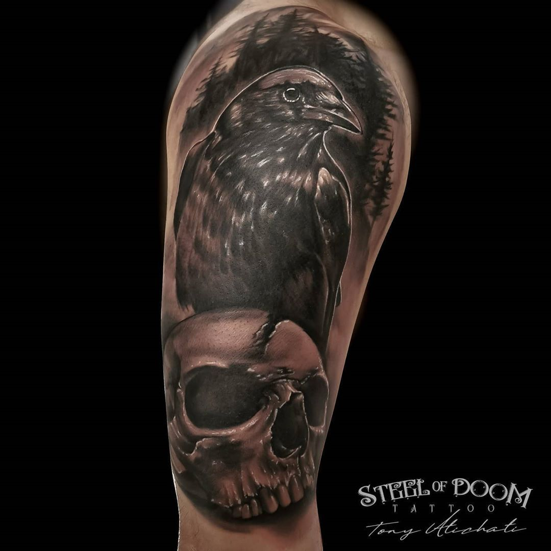 Another cover up for today. #steelofdoom #tattoo #tattoolife #tattoodo #tattoos #inked #inkedmag #blackandgrey #tatoos #tatus #tatuajes #realismotattoo #realistas #realismo #blackandgrey #realism #coverup #coveruptattoo #bcn #tattooartist #tattooer #tatuagens #tatuatges