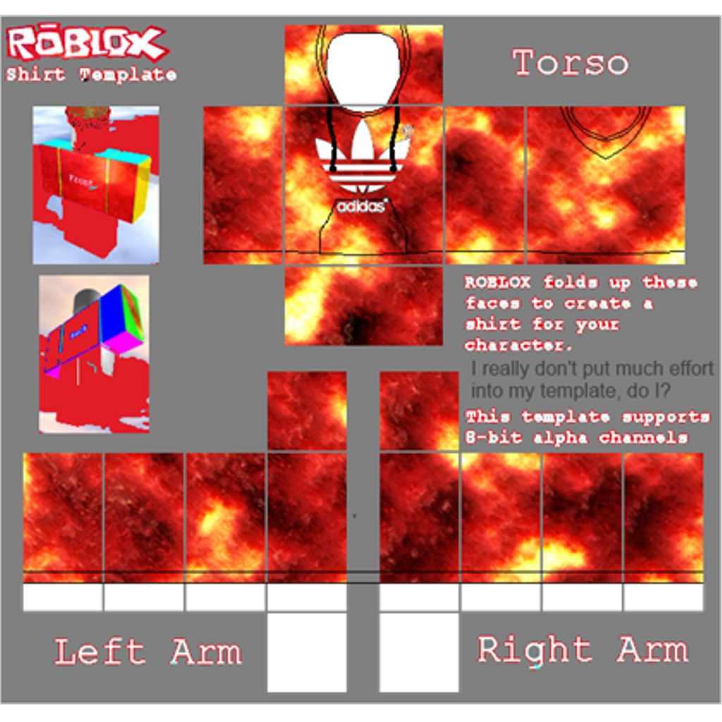 Roblox Shirt Template Roblox T Shirt Template Adidas Roblox