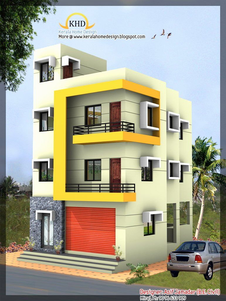 3 Stories House Plans Awesome Fice Furniture 3 Story House Design 1890 Sq Ft Kerala House Design Craftsman House Plans 3 Storey House Design