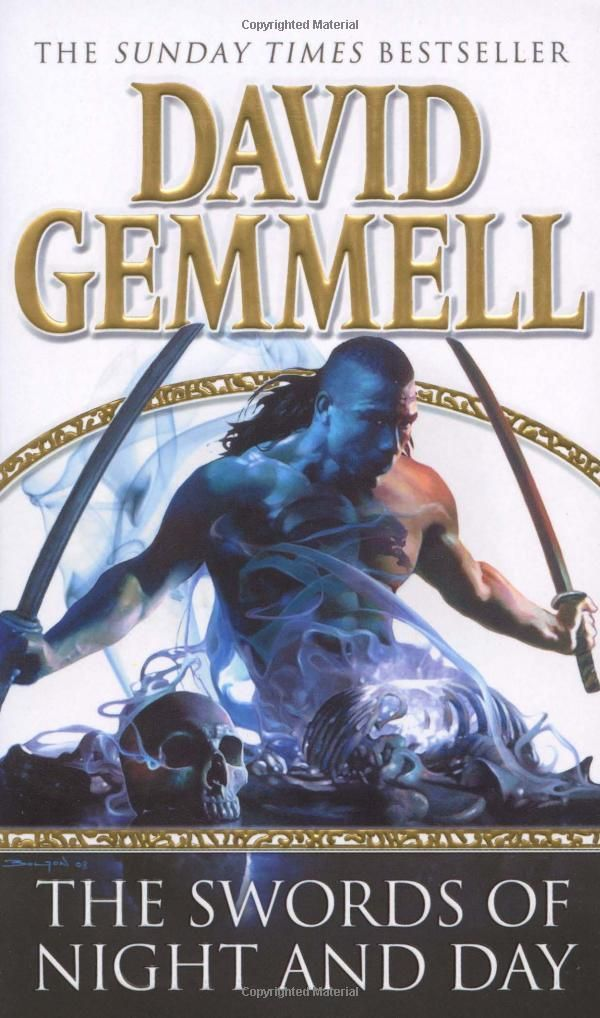 David Gemmell Book Cover Art : The swords of night and day skilgannon damned