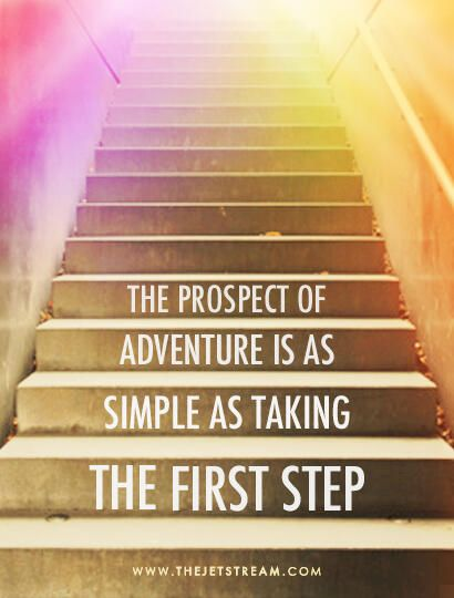 Taking Steps: The Prospect Of Adventure Is As Simple As Taking The First