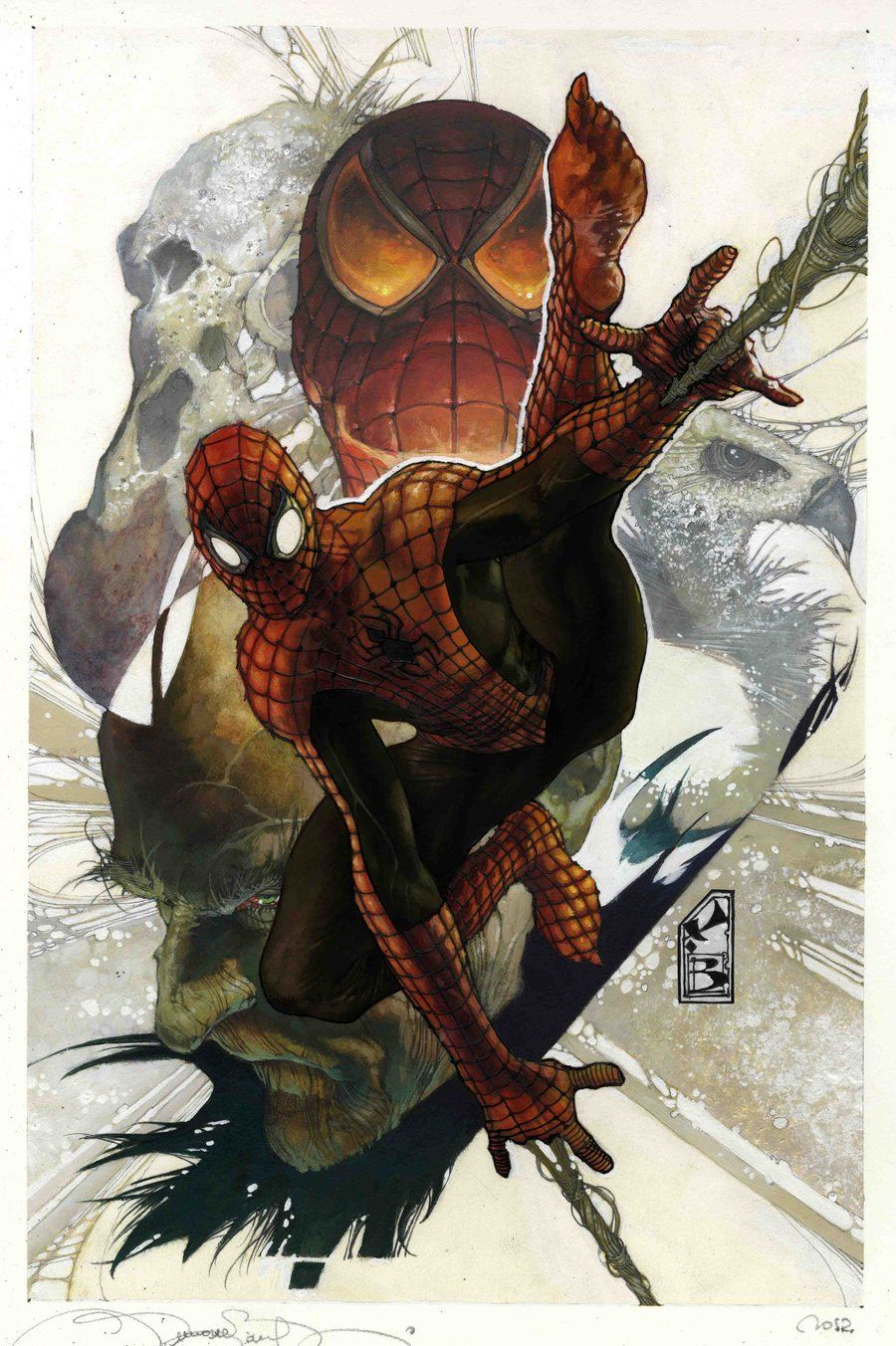 #Superior #Spiderman #Fan #Art.  (Superior Spider Man) By: Simone Bianchi. ÅWESOMENESS!!!™ ÅÅÅ+