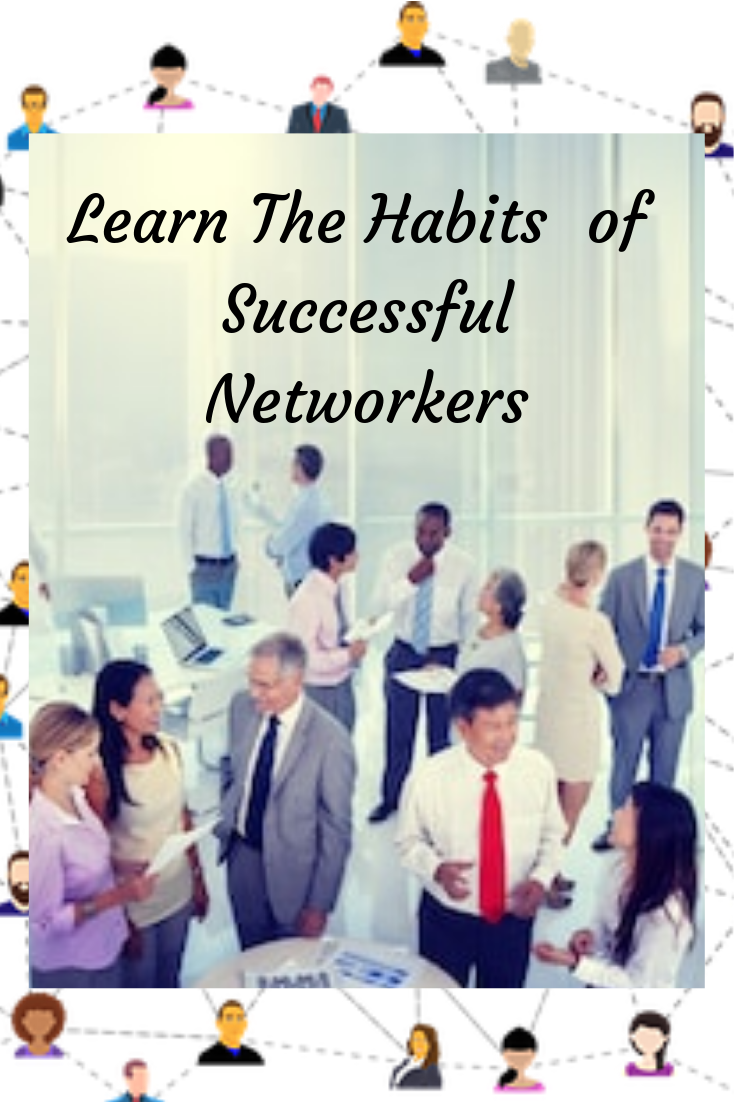 Learn The Habits Of Successful Networkers Networking Quotes Networking Event Success