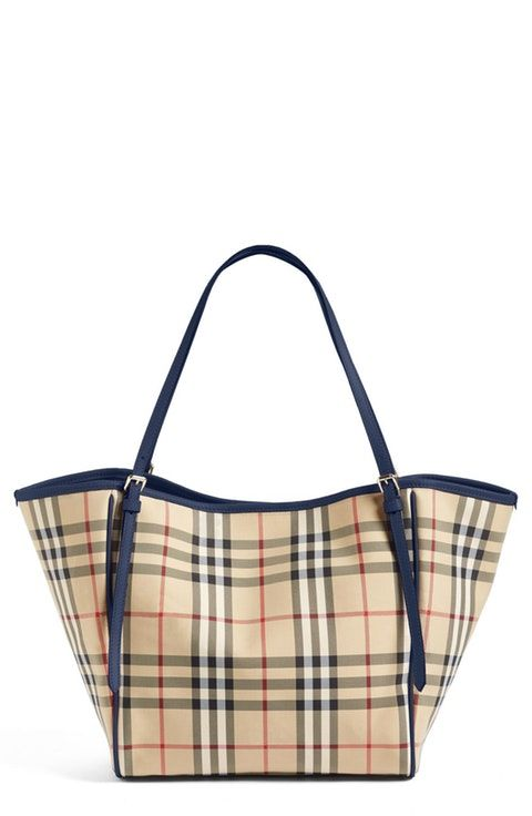 009d8588ed14 Burberry Small Canter Horseferry Check Tote
