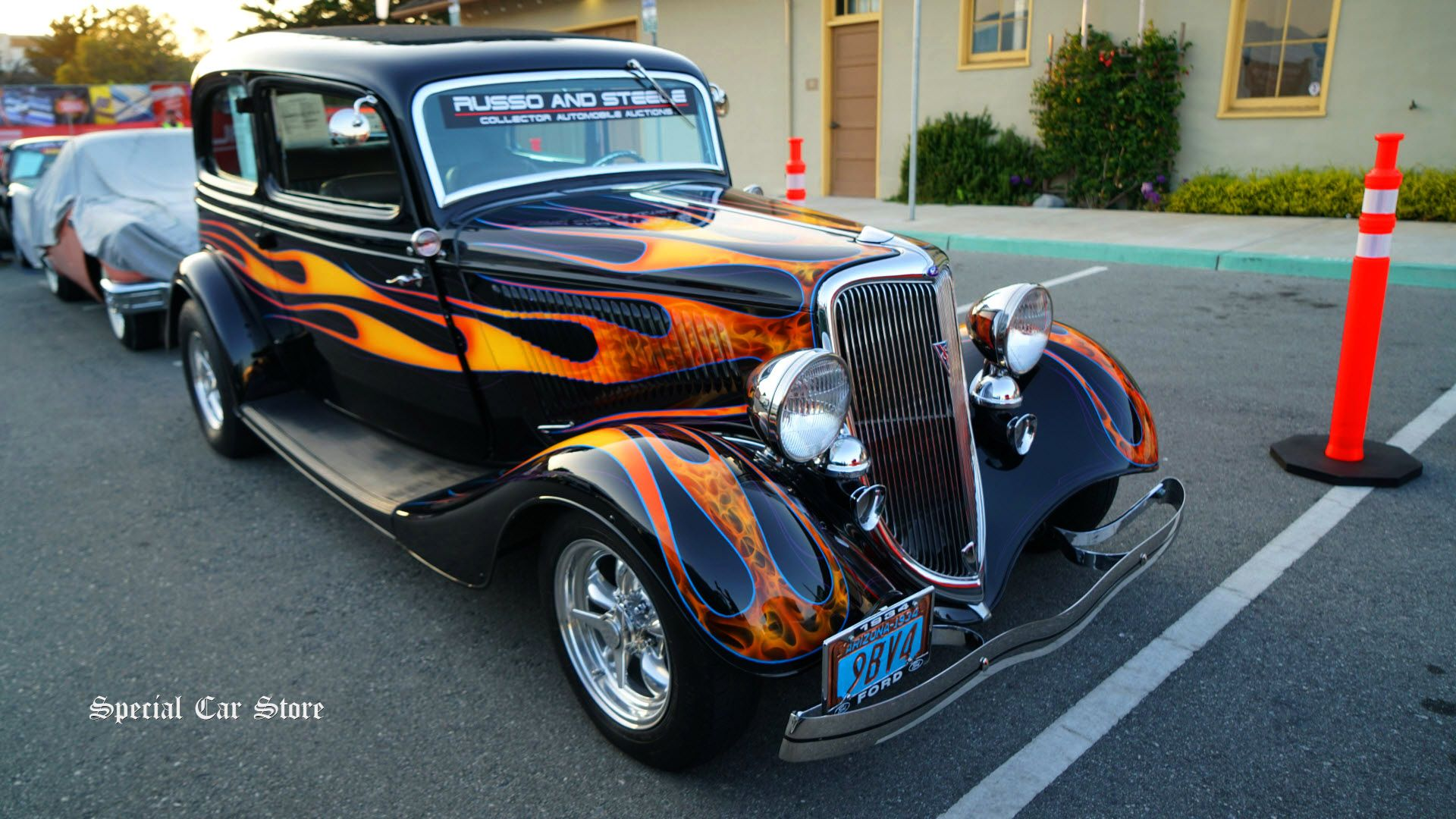 1934 ford tudor custom at russo and steele auctions