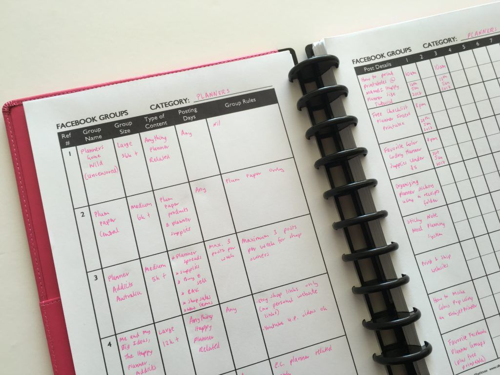 Ultimate Planner Page Size Guide With Printable Reference