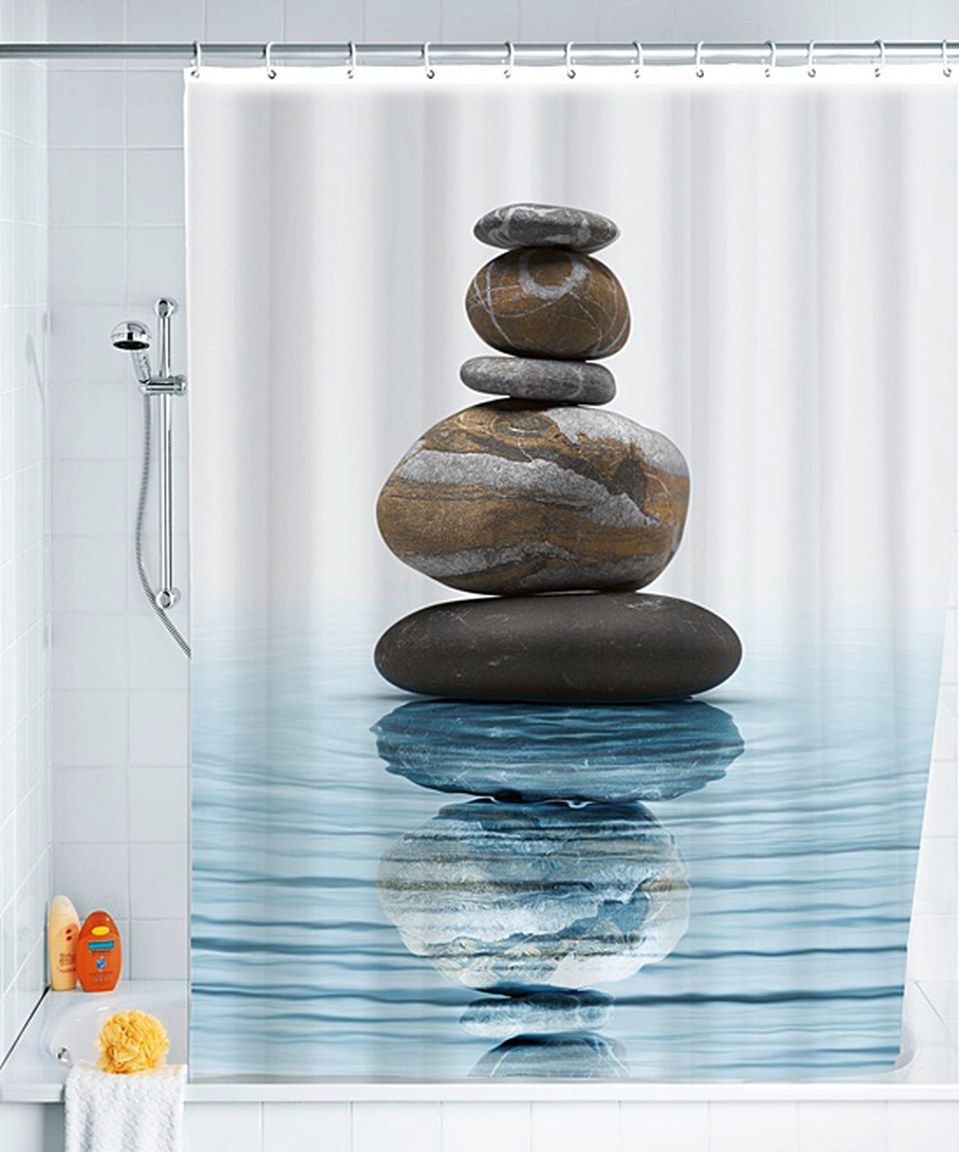 Look what i found on zulily meditation shower curtain by wenko