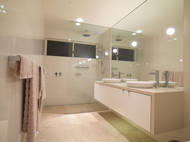 Bathroom Design Waterfall Vanity, Waterfall Bathroom Vanity