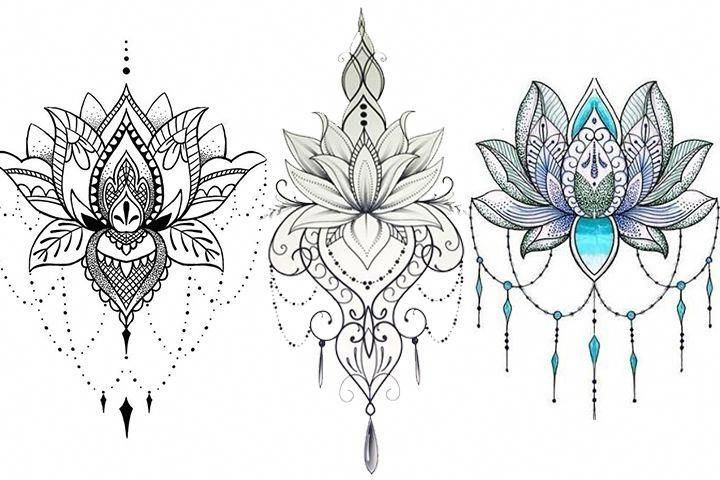 Mandala Tattoo Hand Mandalatattoo Lotus Flower Tattoo Design Lotus Tattoo Design Mandala Tattoo Design