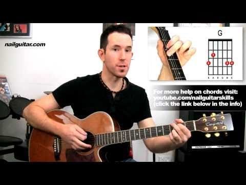 Guitar Lessons 'Knockin On Heavens' Door by Bob Dylan Easy