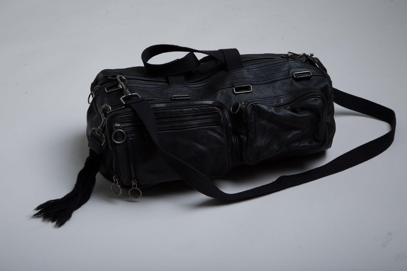 Vintage Dior Homme Deville Bag. Hedi Slimane. Designer Clothing Dark Minimal Street Style Fashion