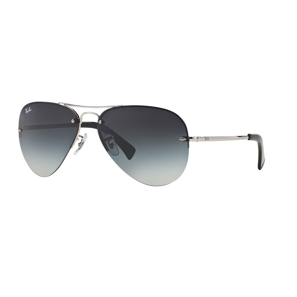 9b102a6904 Ray-Ban Highstreet RB3449 59mm Aviator Gradient Sunglasses in 2019 ...