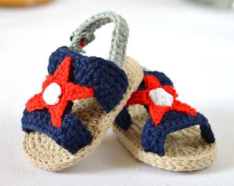 CROCHET PATTERN Baby Shoes T-Bar Baby Sandals por matildasmeadow