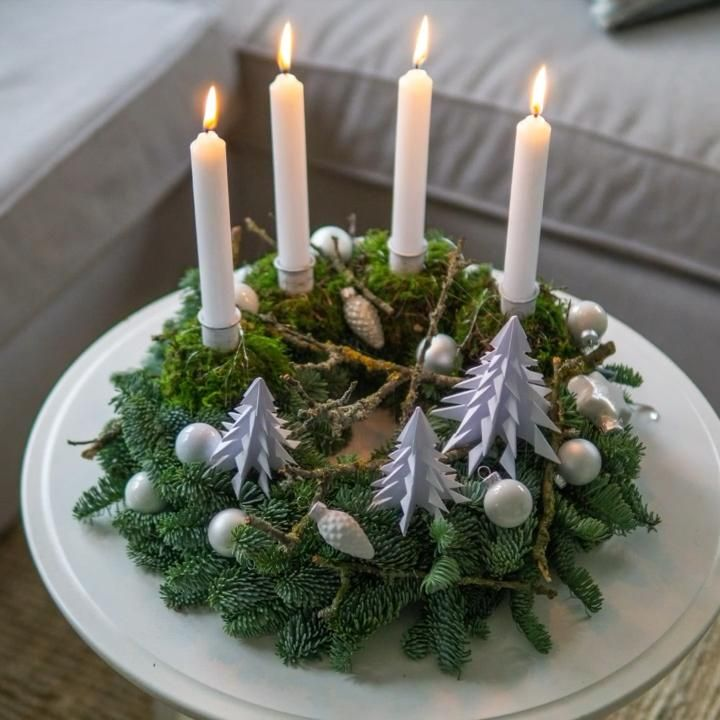 Photo of Decorate the advent wreath