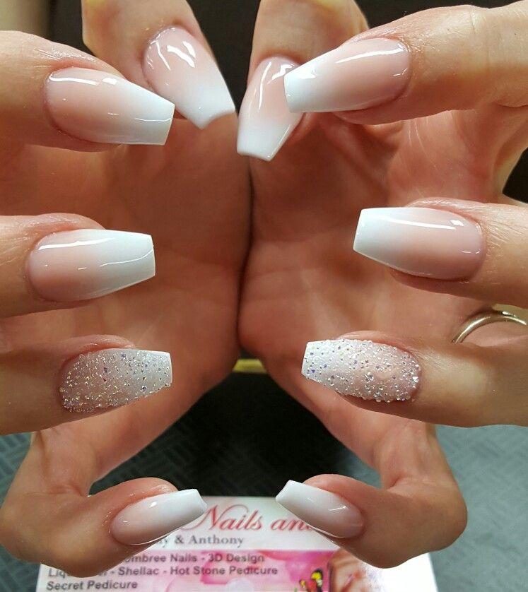 Pin By Rose Krueper On Hairs With Images Bridesmaid Nails Acrylic Bridesmaids Nails Ombre Acrylic Nails