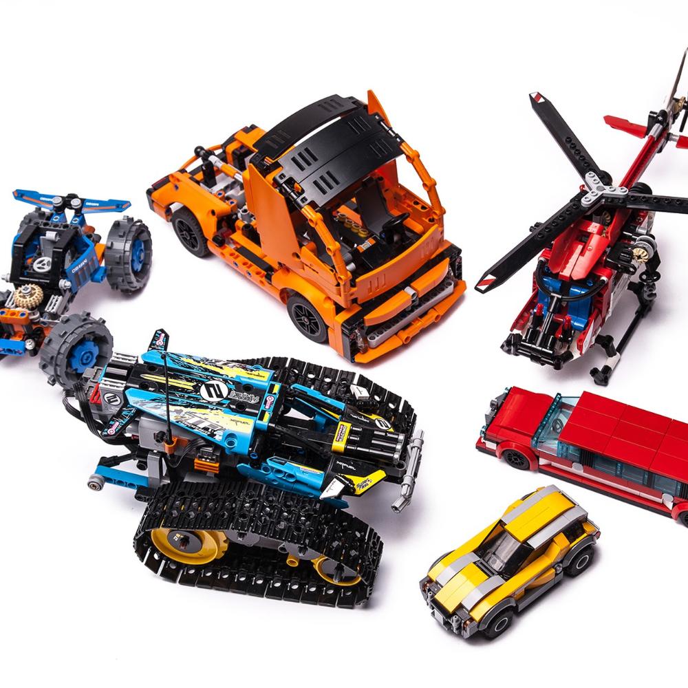 42093 Modern Truck Lego Moc Lego Technic Sets Trucks