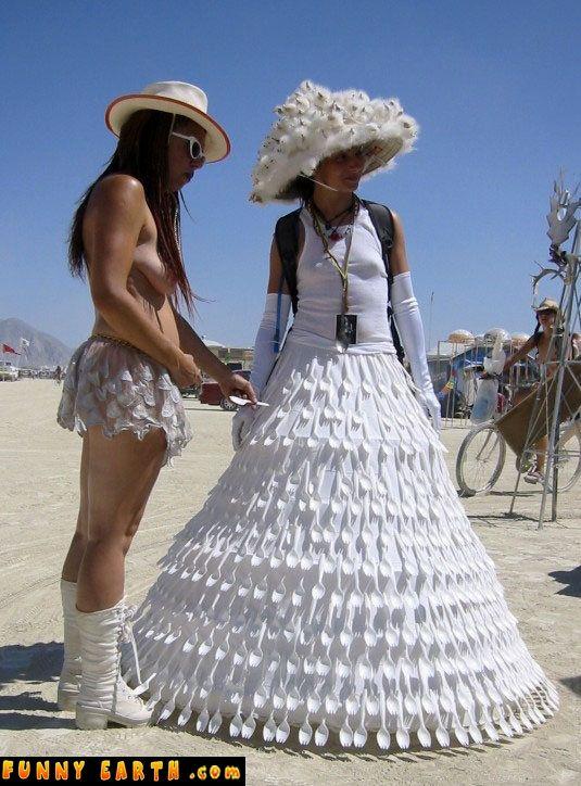 Plastic Fork Dress