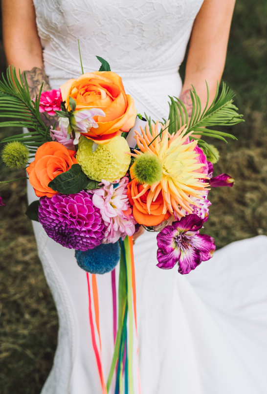 Botanische Regenbogen Sommerfest Hochzeit Hochzeit Thema Hochzeitsthemen Regenbogenhochzeit