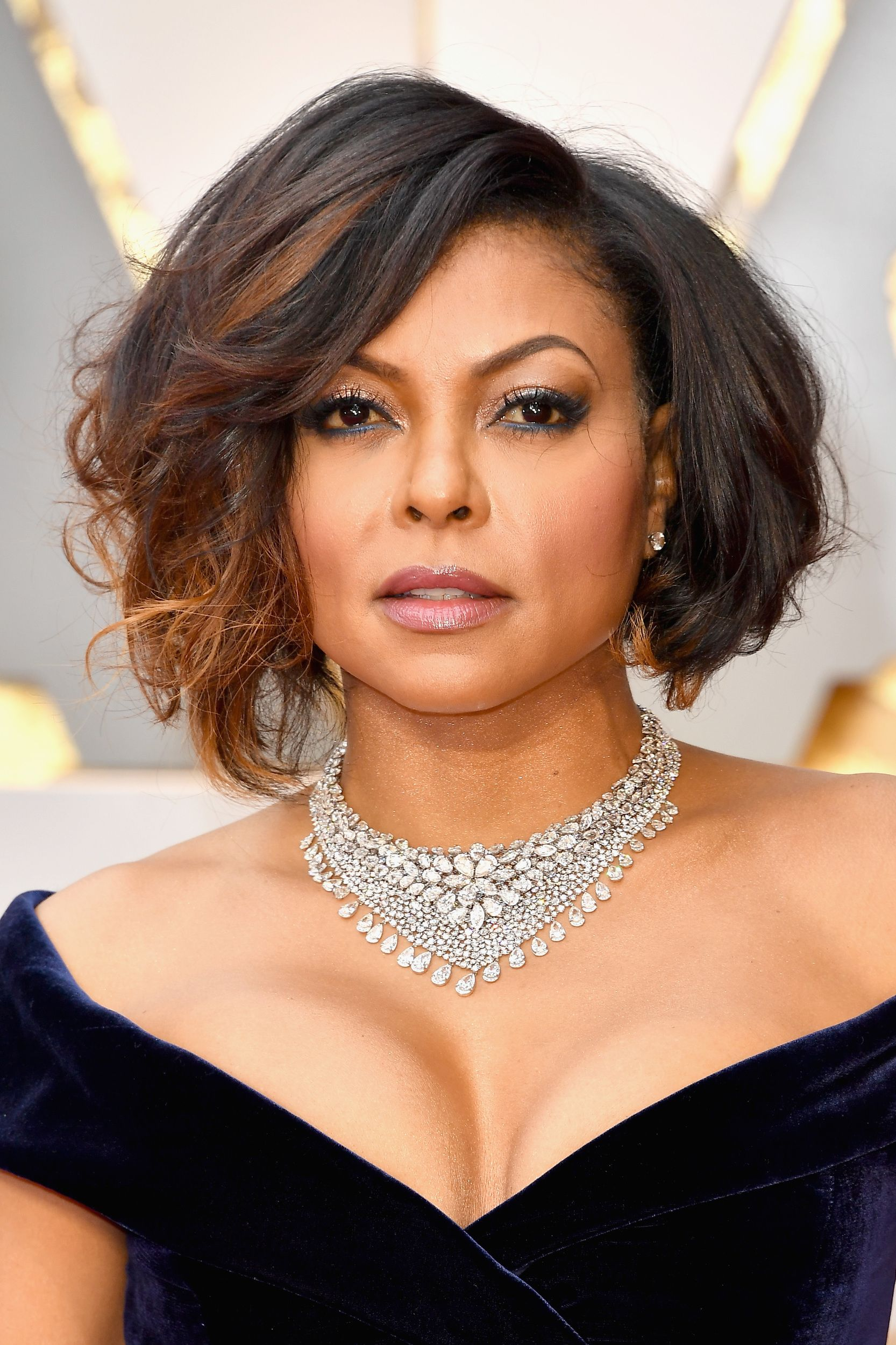 Slay! Taraji P. Henson's blue velvet gown is absolute