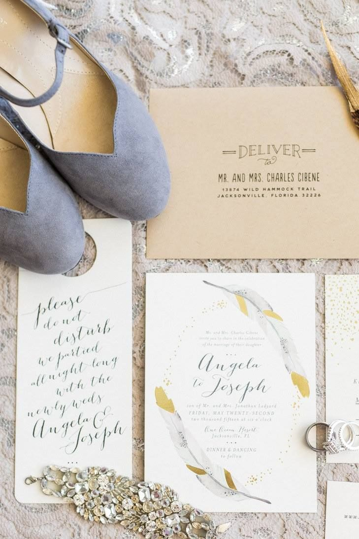 From The Knot, 51+ gorgeous wedding stationery suites you need to ...