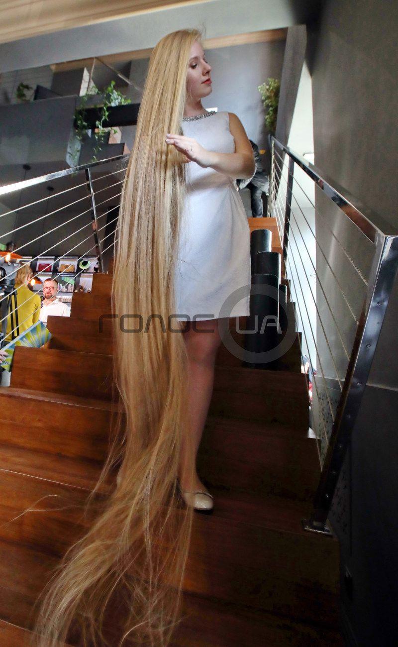 Amazing Elena Korzeniuk 15 Years Old Ukraine Rapunzel In