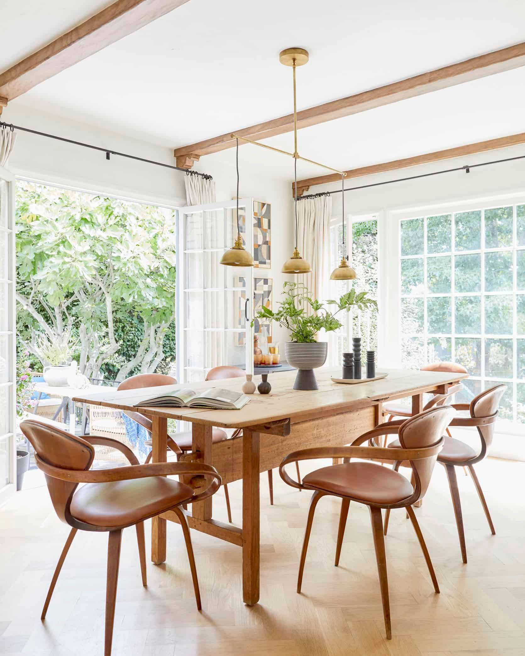 Styling To Sell How We Staged Our Dining Room And Kitchen With The Changes I Should Have Done Years Ago Emily Henderson Modern Dining Room Kitchen Dining Room Dining